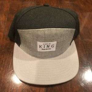 King Hat with leather strap